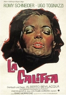 La califfa - German Movie Poster (xs thumbnail)