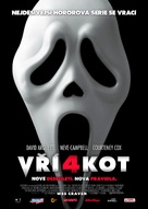 Scream 4 - Czech Movie Poster (xs thumbnail)