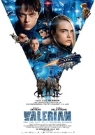 Valerian and the City of a Thousand Planets - Lebanese Movie Poster (xs thumbnail)