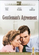 Gentleman's Agreement - DVD movie cover (xs thumbnail)