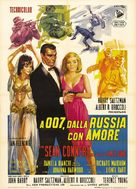 From Russia with Love - Italian Theatrical poster (xs thumbnail)