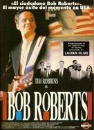 Bob Roberts - Spanish Movie Poster (xs thumbnail)