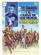 The Great Sioux Uprising - Spanish Movie Poster (xs thumbnail)