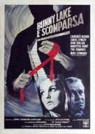 Bunny Lake Is Missing - Italian Movie Poster (xs thumbnail)