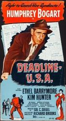 Deadline - U.S.A. - Movie Poster (xs thumbnail)