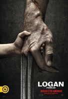 Logan - Hungarian Movie Poster (xs thumbnail)