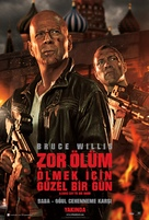 A Good Day to Die Hard - Turkish Movie Poster (xs thumbnail)