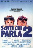Look Who's Talking Too - Italian Movie Poster (xs thumbnail)