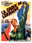 The Cross of Lorraine - French Movie Poster (xs thumbnail)