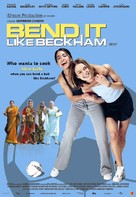 Bend It Like Beckham - Indian Movie Poster (xs thumbnail)