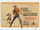 Two Mules for Sister Sara - British Movie Poster (xs thumbnail)