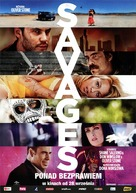 Savages - Polish Movie Poster (xs thumbnail)