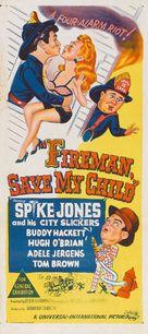 Fireman Save My Child - Australian Movie Poster (xs thumbnail)