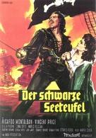 Gordon, il pirata nero - German Movie Poster (xs thumbnail)