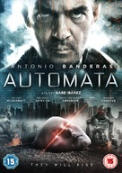 Autómata - British DVD movie cover (xs thumbnail)