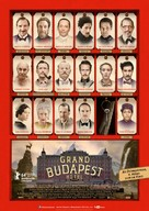 The Grand Budapest Hotel - German Movie Poster (xs thumbnail)