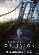 Oblivion - Argentinian Movie Poster (xs thumbnail)
