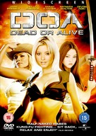 Dead Or Alive - British DVD cover (xs thumbnail)