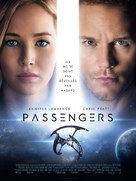 Passengers - French Movie Poster (xs thumbnail)
