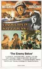 The Enemy Below - Finnish Movie Cover (xs thumbnail)