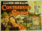 Contraband Spain - British Movie Poster (xs thumbnail)
