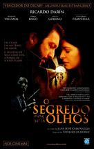 El secreto de sus ojos - Brazilian Movie Poster (xs thumbnail)