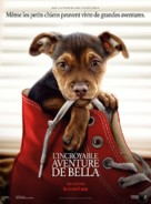 A Dog's Way Home - French Movie Poster (xs thumbnail)