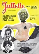 Giulietta degli spiriti - Danish Movie Poster (xs thumbnail)