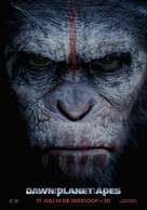 Dawn of the Planet of the Apes - Dutch Movie Poster (xs thumbnail)