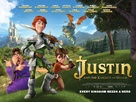 Justin and the Knights of Valour - British Movie Poster (xs thumbnail)