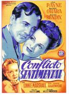 Sentimental Journey - Spanish Movie Poster (xs thumbnail)