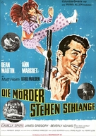 Murderers' Row - German Movie Poster (xs thumbnail)