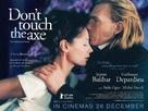 Ne touchez pas la hache - British Movie Poster (xs thumbnail)