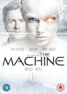 The Machine - British DVD cover (xs thumbnail)