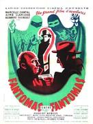 Fantômas contre Fantômas - French Movie Poster (xs thumbnail)
