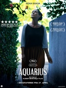 Aquarius - Danish Movie Poster (xs thumbnail)