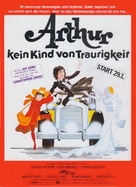 Arthur - German Movie Poster (xs thumbnail)