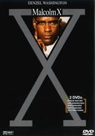 Malcolm X - German DVD cover (xs thumbnail)