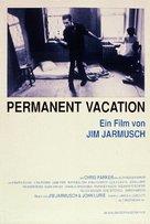 Permanent Vacation - German Movie Poster (xs thumbnail)