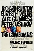 The Comedians - Movie Poster (xs thumbnail)