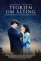The Theory of Everything - Danish Movie Poster (xs thumbnail)