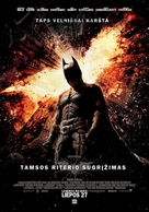 The Dark Knight Rises - Lithuanian Movie Poster (xs thumbnail)