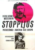 Il ferroviere - Swedish Movie Poster (xs thumbnail)