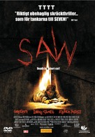 Saw - Swedish DVD movie cover (xs thumbnail)