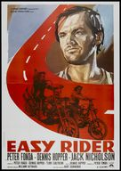 Easy Rider - Italian Theatrical movie poster (xs thumbnail)