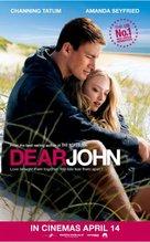 Dear John - British Movie Poster (xs thumbnail)