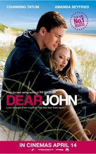 Dear John - British Movie Poster (xs thumbnail)
