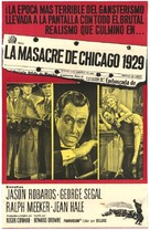 The St. Valentine's Day Massacre - Mexican Movie Poster (xs thumbnail)