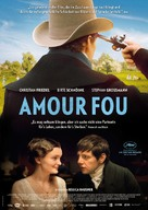 Amour fou - German Movie Poster (xs thumbnail)