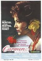 Carmen la de Ronda - Spanish Movie Poster (xs thumbnail)